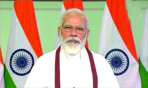 इतर देशांच्या तुलनेत भारतात चांगली स्थिती : पंतप्रधान नरेंद्र मोदी