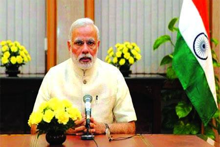 देशाकडे डोळे वटारून पाहणाऱ्यांना चोख उत्तर दिले - पंतप्रधान मोदी