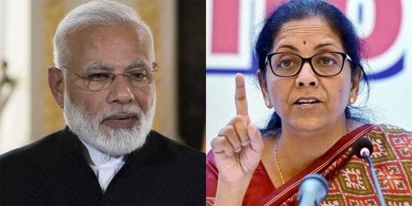 Narendra-Modi-Nirmala-Sit
