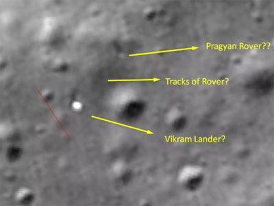 चंद्रावर प्रज्ञान रोव्हर अजूनही सुस्थितीत